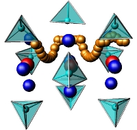 Silicate-based apatite with SiO4 tetrahedra